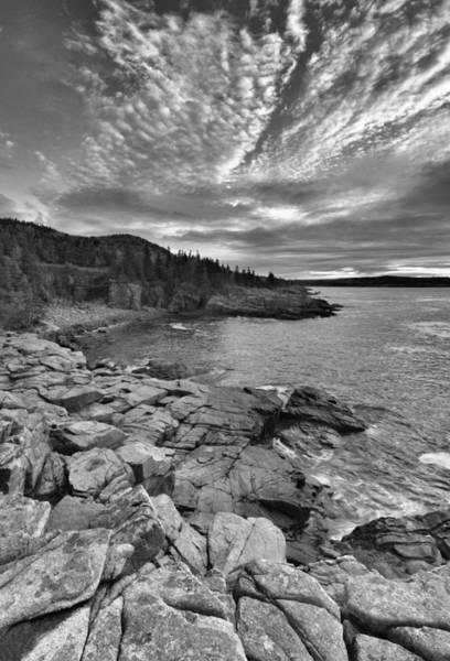 Wall Art - Photograph - The Maine Coastline by Stephen  Vecchiotti