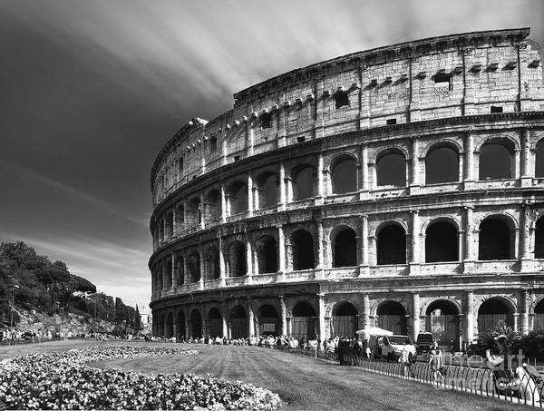 Roms Photograph - The Majesty Of The Colosseum by Stefano Senise