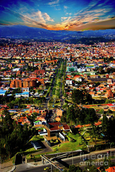 Wall Art - Photograph - The Majesty That Is Cuenca, Ecuador by Al Bourassa