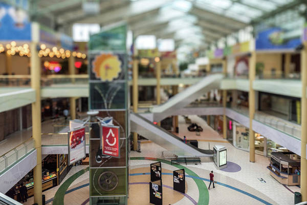 Photograph - The Mall At The Itty-bitty-city by Randy Scherkenbach