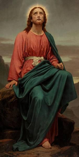 Man Of God Wall Art - Painting - The Man Of Sorrows by Sir Joseph Noel Paton