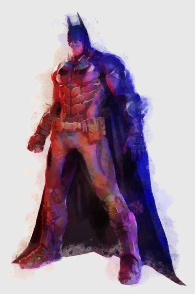 Digital Art - The Man With A Cape by Caito Junqueira