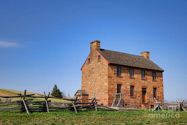 Wall Art - Photograph - The Manassas Stone House by Olivier Le Queinec