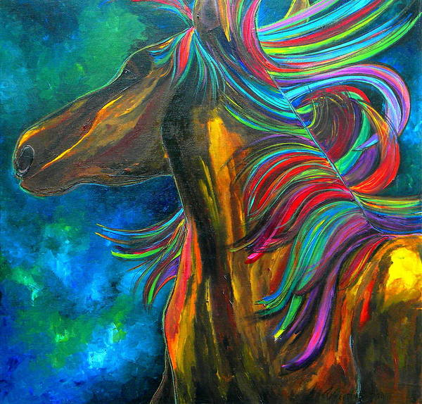 Painting - The Mane by Patti Schermerhorn