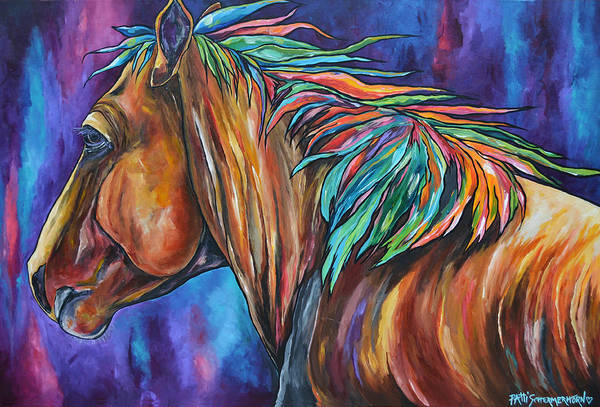 Painting - The Mane Two by Patti Schermerhorn