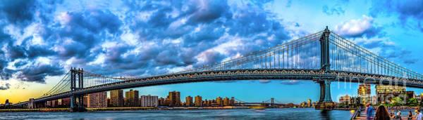 Photograph - The Manhattan Bridge by Nick Zelinsky