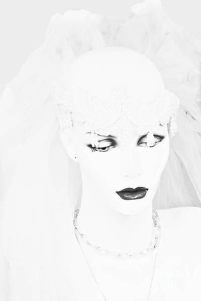 Mannequin Digital Art - The Mannequin Bride by Randy Steele