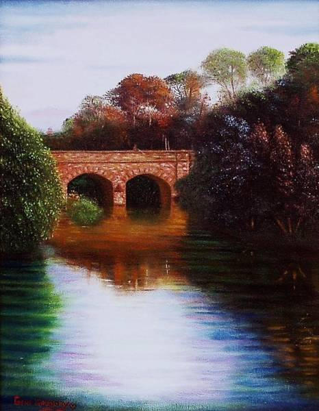 Painting - The Margey by Gene Gregory