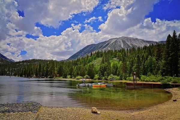 Photograph - The Marina At Rock Creek Lake by Lynn Bauer