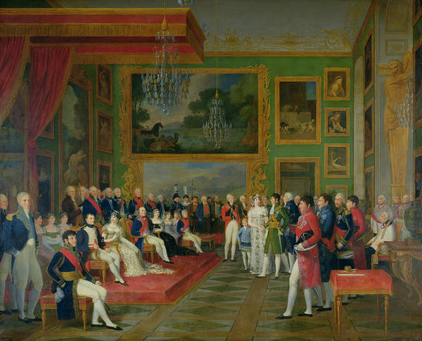 1781 Painting - The Marriage Of Eugene De Beauharnais by Francois Guillaume Menageot