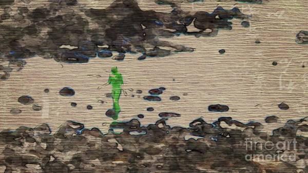 The Martian By Mary Bassett Art Print