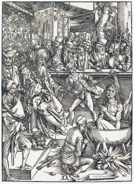 Drawing - The Martyrdom Of Saint John by Albrecht Durer