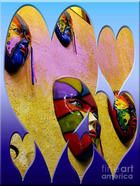The Masks Of Santiago, Panama II Art Print