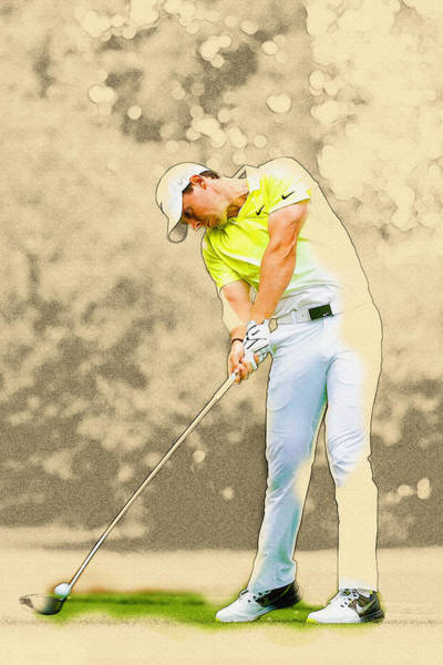 Rory Mcilroy Digital Art - The Master by Don Kuing
