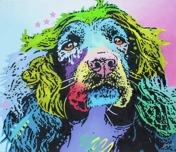 Field Spaniel Painting - The Master Of Game by Hood alias Ludzska