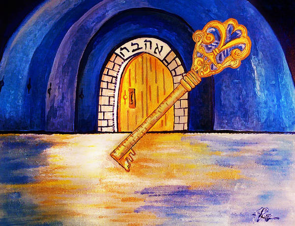 Painting - The Masters Key by Jennifer Page