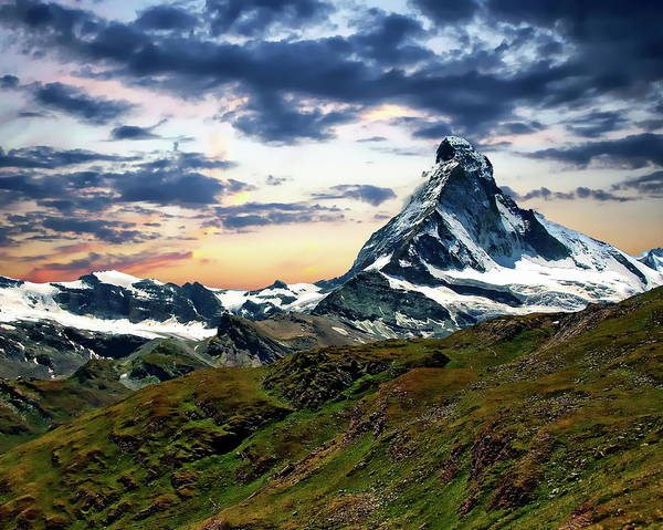 Photograph - The Matterhorn by Anthony Dezenzio