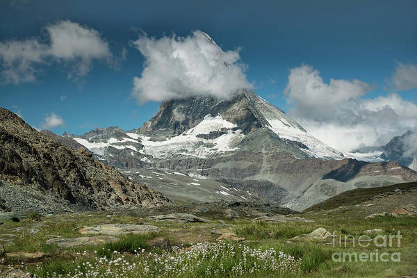 Photograph - The Matterhorn In Zermatt Switzerland by Alissa Beth Photography