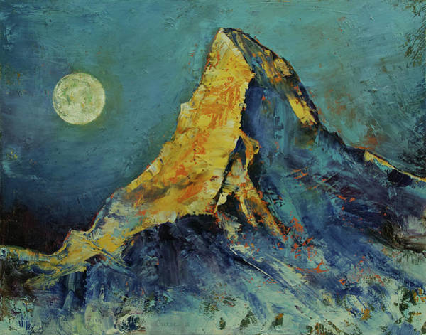Wall Art - Painting - The Matterhorn by Michael Creese