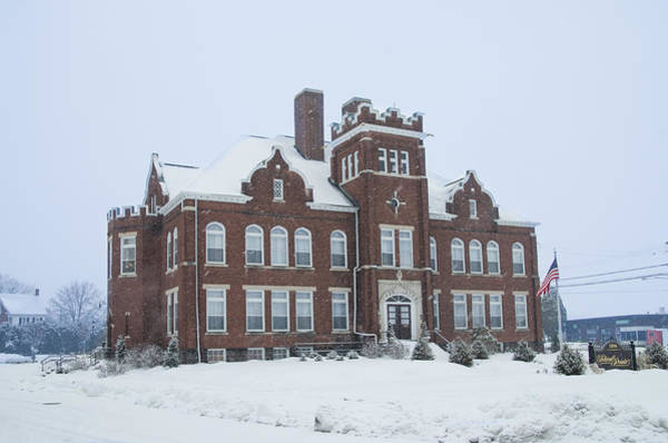 Photograph - The Meade School - Gettysburg Pa by Bill Cannon