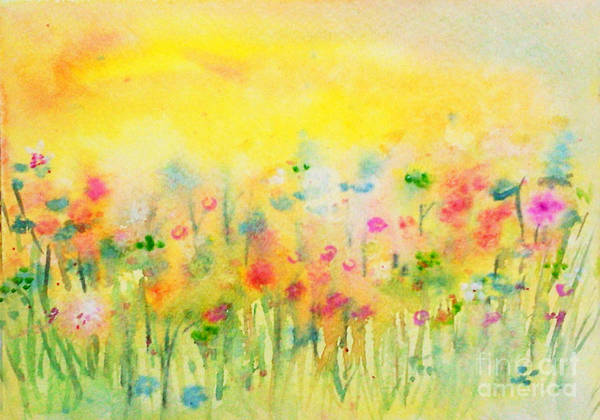 Painting - The Meadow by Asha Sudhaker Shenoy
