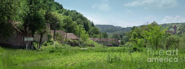Photograph - The Medieval Village Of Malancrav, Transylvania, Romania by Perry Rodriguez