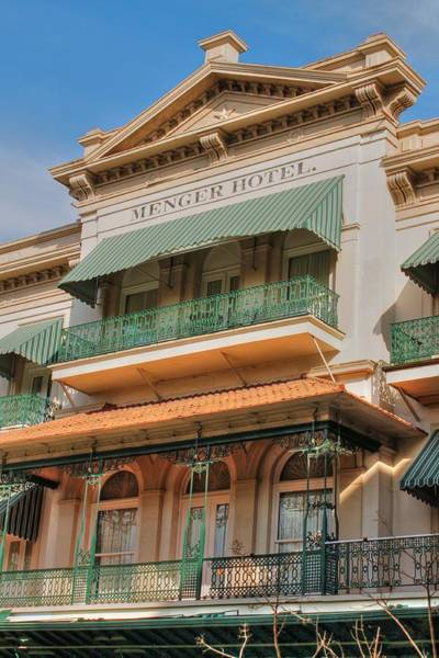Photograph - The Menger Hotel In Hdr by Sarah Broadmeadow-Thomas