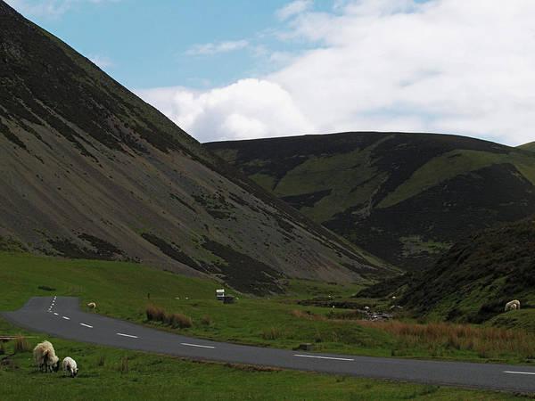 Southern Uplands Wall Art - Photograph - The Mennock Pass by Steve Watson