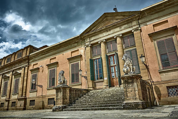 Photograph - The Meridian Palace In The Pitti Palace by Fine Art Photography Prints By Eduardo Accorinti