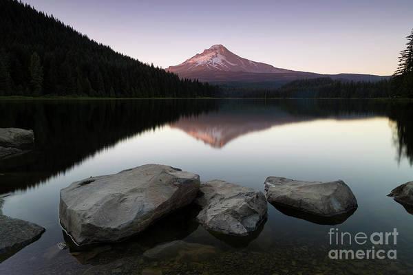 Lake Sunset Photograph - The Mesmerizing View  by Masako Metz