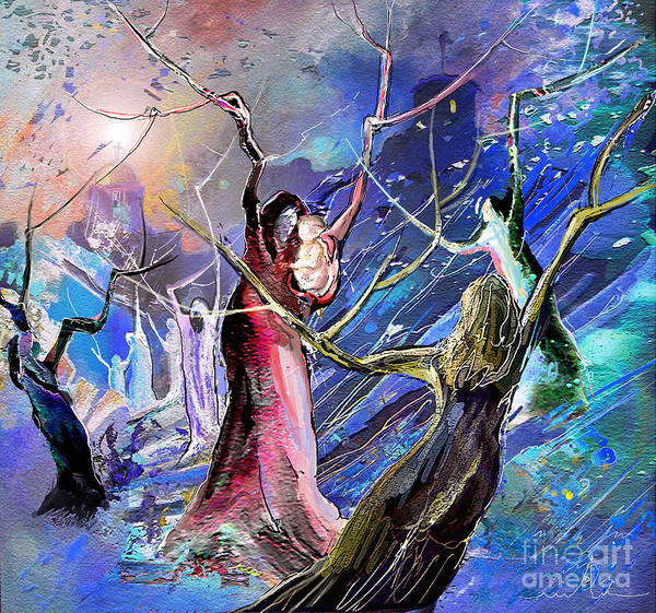 Painting - The Messiah Is Born by Miki De Goodaboom
