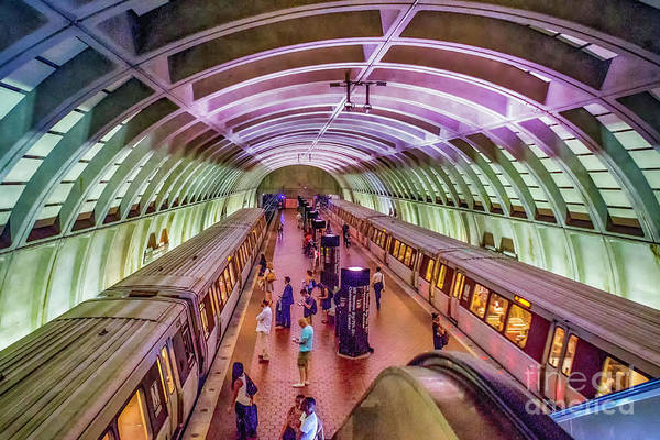 Photograph - The Metro by Nick Zelinsky