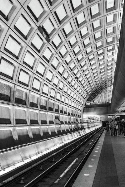 Photograph - The Metro Station by SR Green