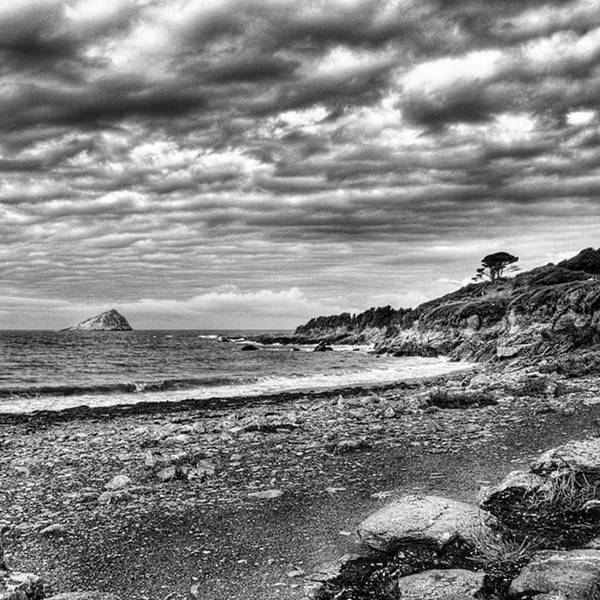 Sky Photograph - The Mewstone, Wembury Bay, Devon #view by John Edwards