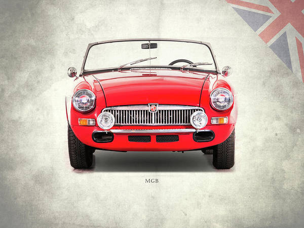 Mg Photograph - The Mgb Roadster by Mark Rogan