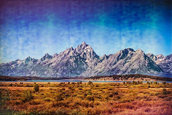 Photograph - The Midsummer Grand Teton by John M Bailey