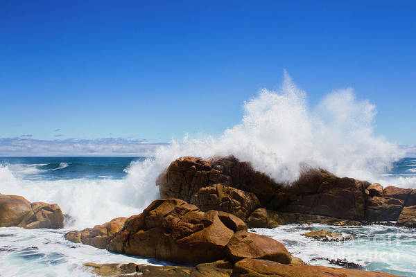 Splash Photograph - The Might Of The Ocean by Jorgo Photography - Wall Art Gallery