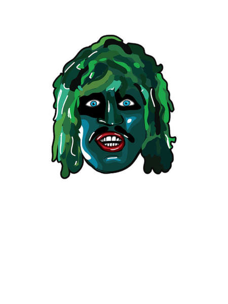 Print On Demand Digital Art - The Mighty Boosh- Old Gregg by Paul Telling