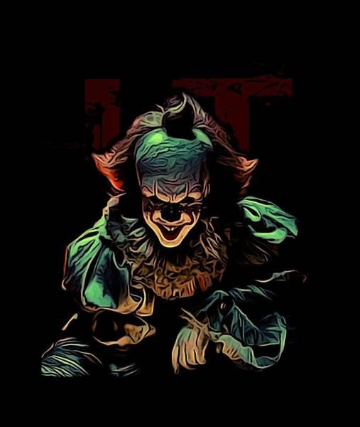New Trend Digital Art - the Mighty Clown by Nana Westernia