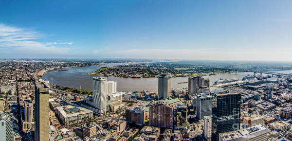 Photograph - The Mighty Mississippi-new Orleans by James Hennis