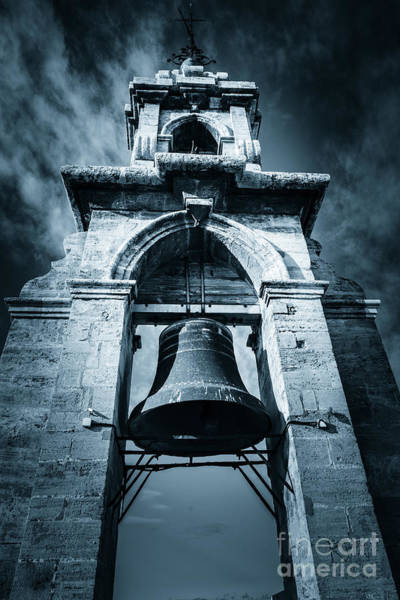 Photograph - The Miguelete Bell Tower Valencia Spain by Peter Noyce