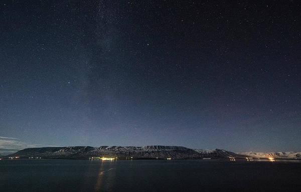 Photograph - The Milky Way Over Northern Iceland by Matt Swinden