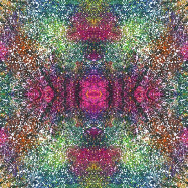 Divine Love Mixed Media - The Milky Way's Galatic Plane #1468 by Rainbow Artist Orlando L