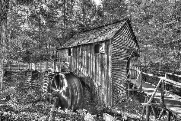 Photograph - The Mill At Cades Cove by Don Mercer