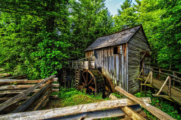 Photograph - The Mill by Debra and Dave Vanderlaan