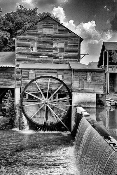 Photograph - The Mill by Paul W Faust -  Impressions of Light