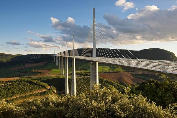 Photograph - The Millau Viaduct by Stephen Taylor