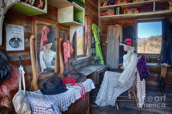 Millinery Photograph - The Millinery Shop by Priscilla Burgers