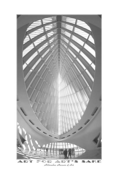 Milwaukee Art Museum Photograph - The Milwaukee Art Museum by Mike McGlothlen