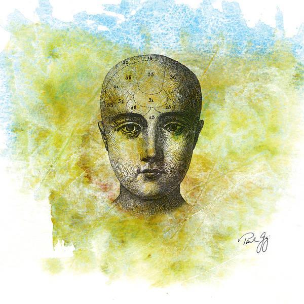 Mixed Media - The Mind by Paul Gaj